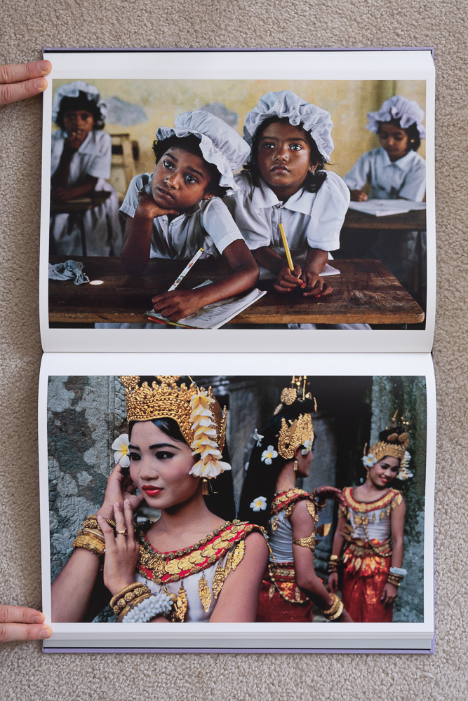 Steve McCurry: The Iconic Photographs . Schoolgirls, Kegalle, Sri Lanka, 1995. Dancers at Preah Khan, Angkor, Cambodia, 2000.
