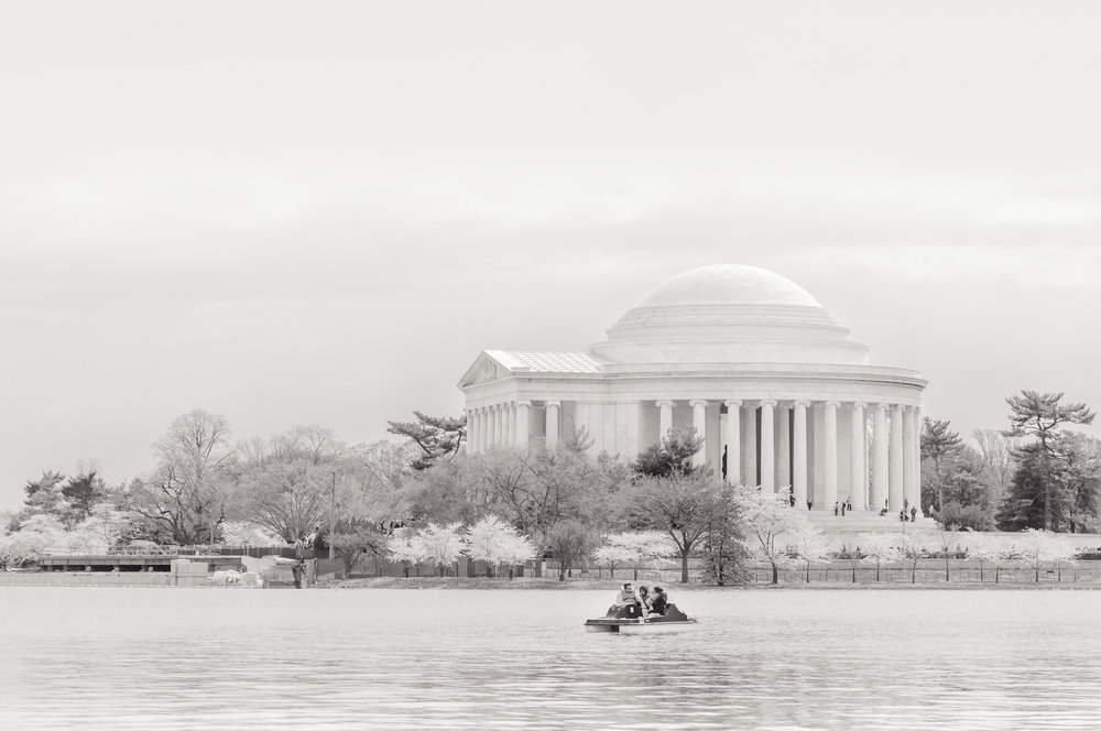 Pedal Boating by the Thomas Jefferson Memorial  (2011)