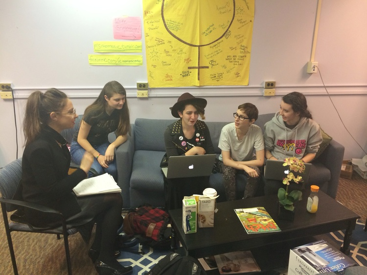 Plotting and scheming with the Vassar Feminist Alliance Steering Committee