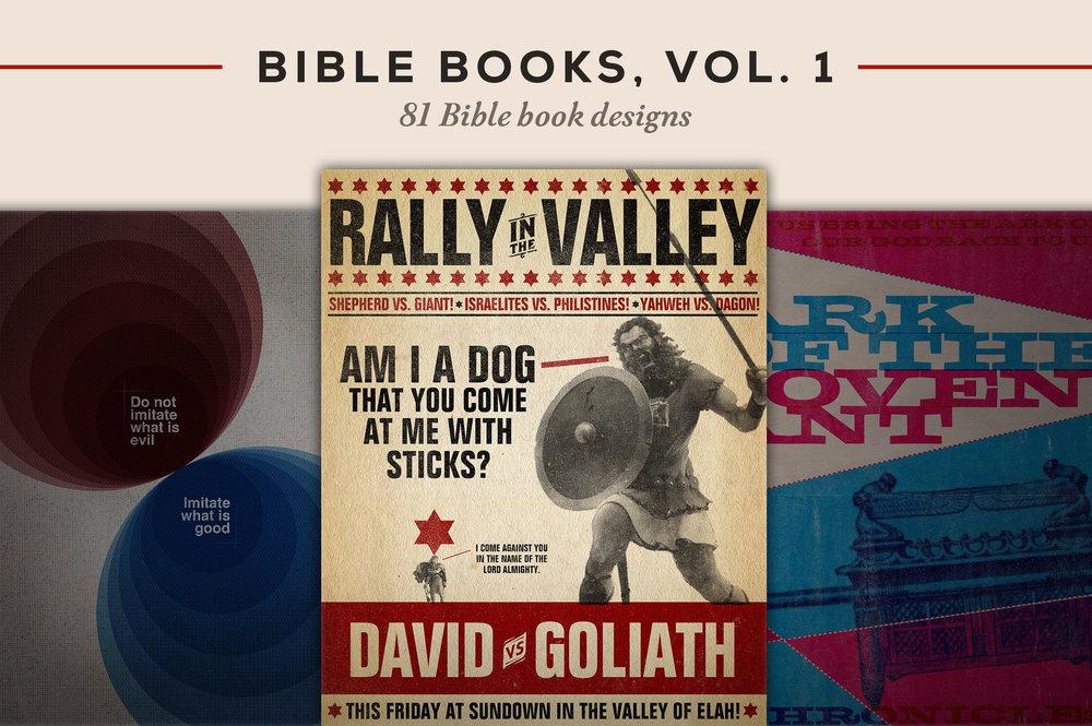 81 unique Bible Book designs