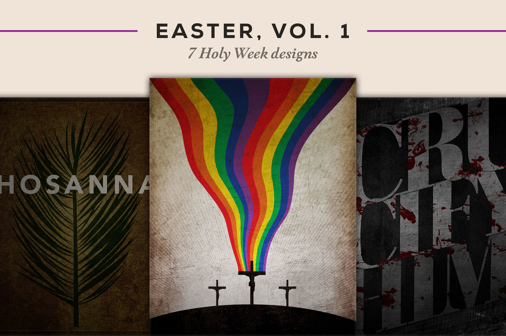 7 Holy Week designs