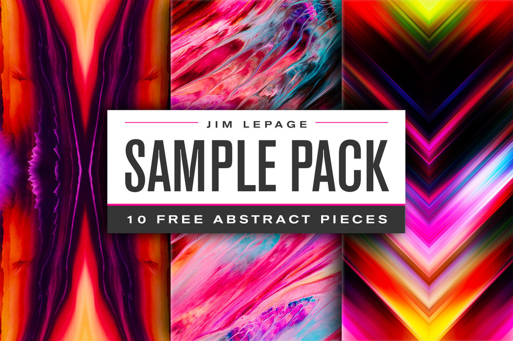 FREE collection of 10 pieces from  my abstract products.