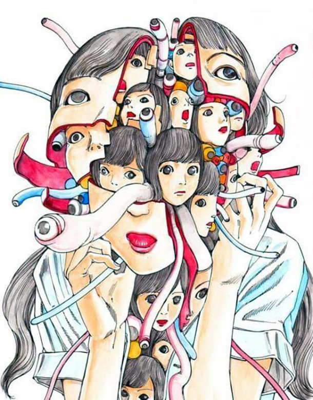 Illustration by Shintaro Kago