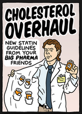 Actually, no. Not big pharma. Science. Big pharma is who the doctors listen to, not the guideline writers.