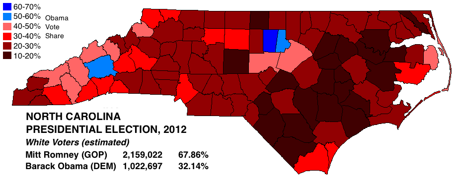 WhiteVoteMap North Carolina 2012.png
