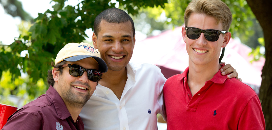 Yes, that light-skinned black guy is wearing a Brooks Brothers polo shirt.