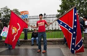 rebel outside white house