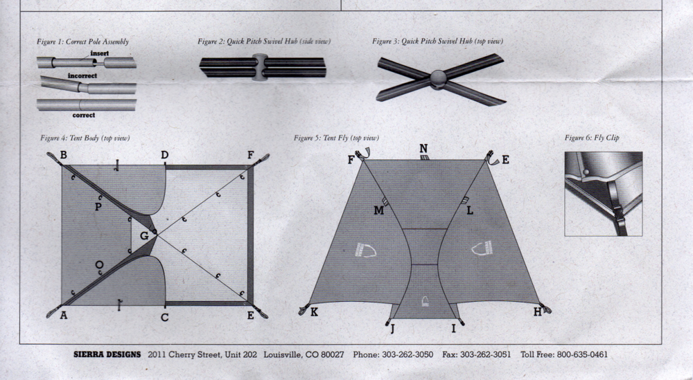 Sierra Designs Sirius 3 Tent User Manual Page 2.png