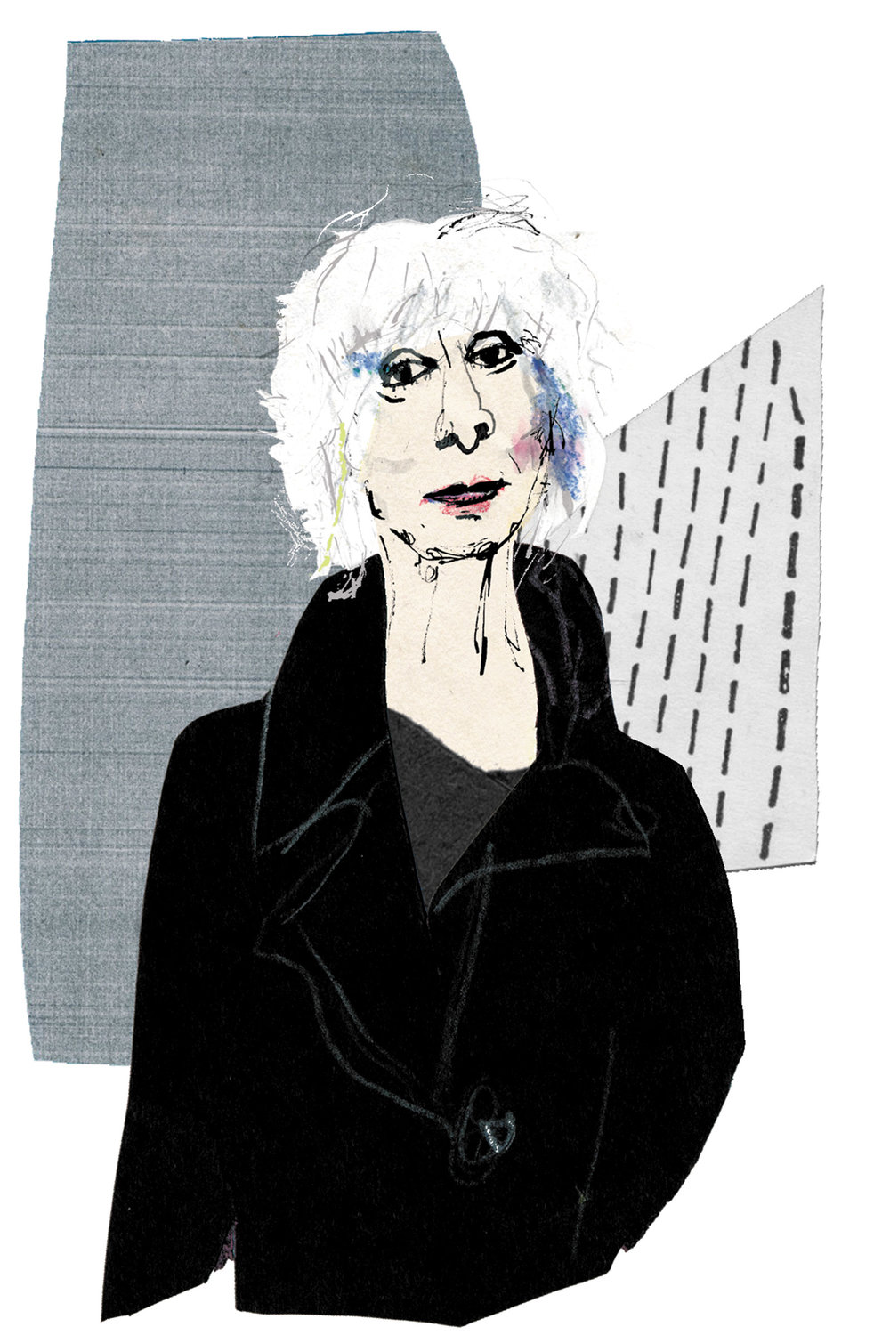 Illustration by Joanna Neborsky, from  The New York Review of Books