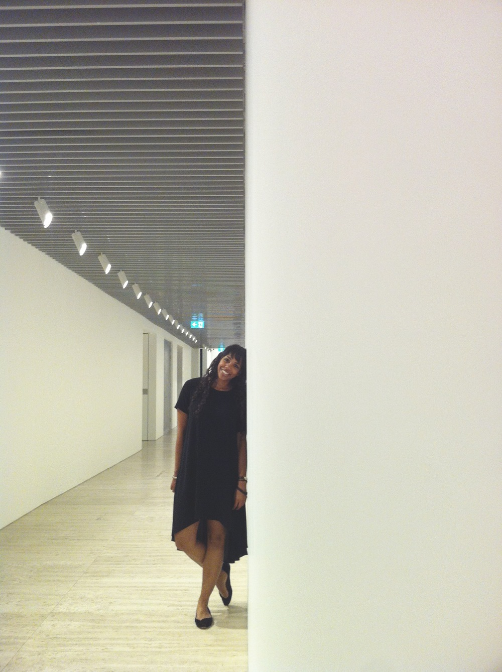 My fav black #Asos shong dress (shong = short = long, yes I totally made that up)