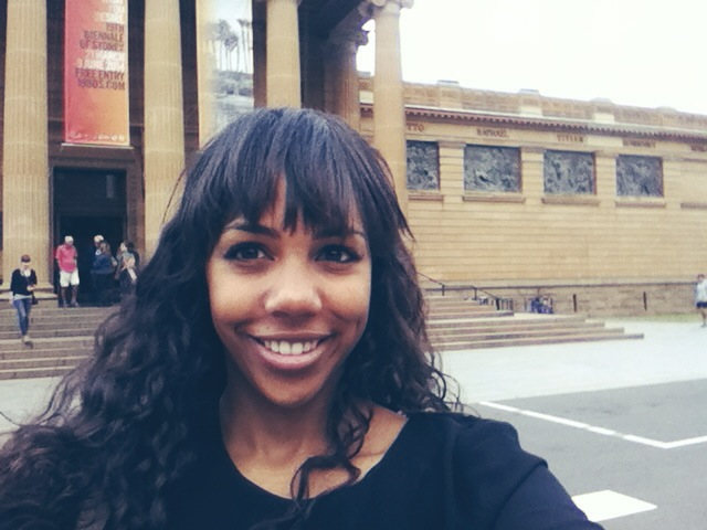 #Selfie with the NSW Art Gallery