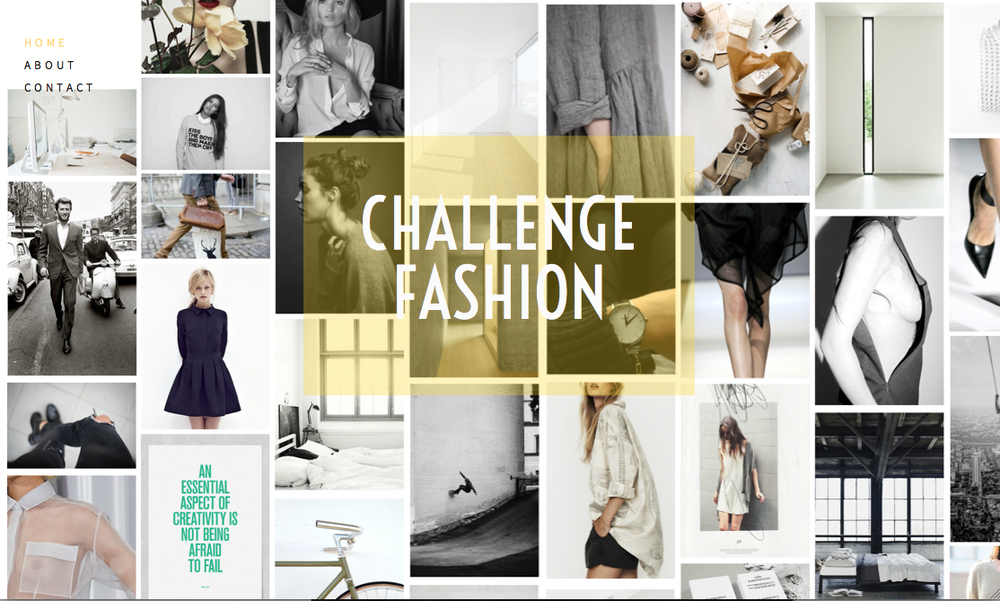 Check out my teaser website www.challengefashion.co.uk