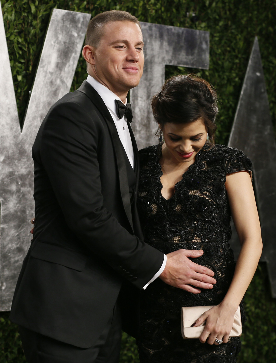 Channing Tatum & His Wife Jenna Dewan-Tatum