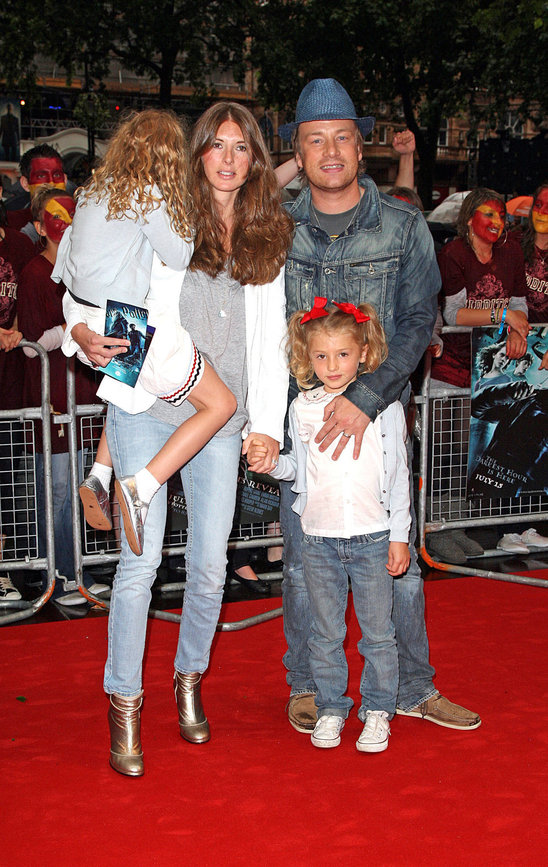 Jamie Oliver's daughters are named Petal Blossom Rainbow, Daisy Boo Pamela and Poppy Honey Rosie.