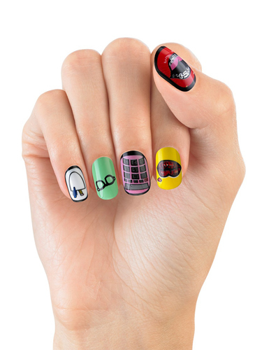 Quirky Nail Stickers