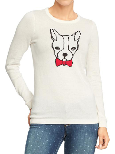 Cuddle-y Pup Sweater!