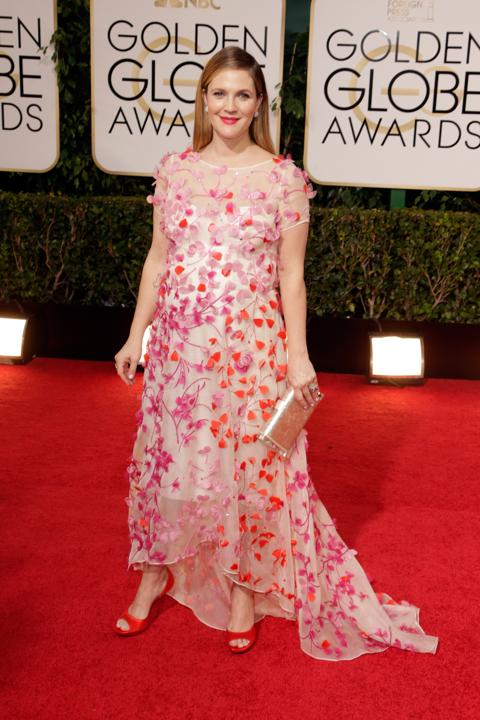 Photo by: Getty Images    Worst: Drew Barrymore  Her acting is superb, her positive spirit can't be tamed, so it's hard to say a negative word about the presenter, but her Monique Lhullier looked like a craft project gone wrong and was not kind to her pregnant body.
