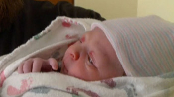 Surrogate baby born months after mother's death. (CNN)