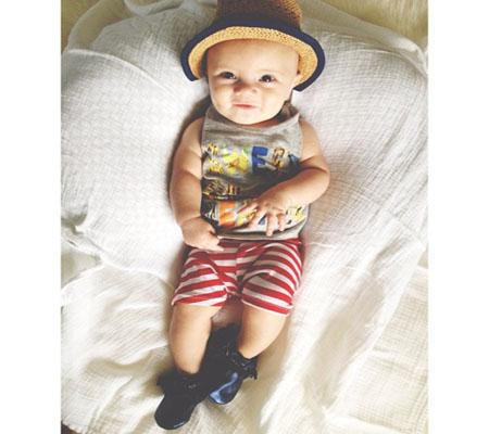 Photo by: Jerika Welch   Summer Time  A baby fedora! It doesn't get much cuter than that.