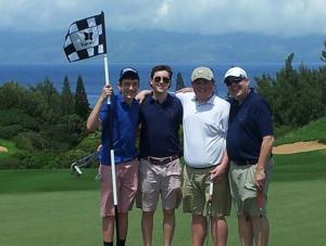 H&R Block CEO William Cobb and his three sons