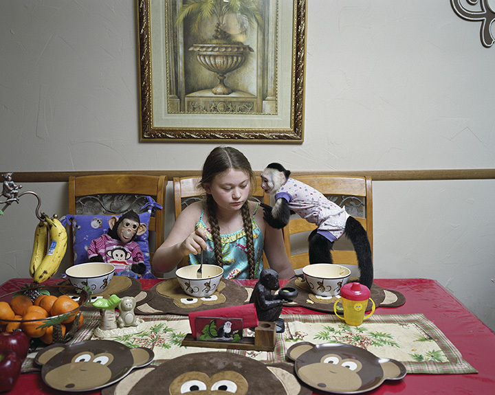 Robin Schwartz, Breakfast Talk with Rosie, 2011, from Amelia and the Animals (Aperture, 2014)
