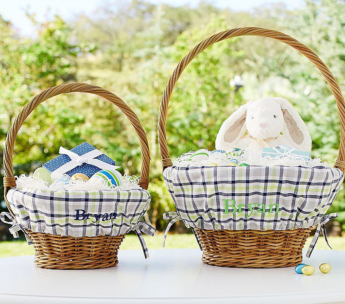 The 12 best easter baskets for sweet chicks and bunnies every pottery barn kids woven baskets and liners 15 make for the most beautiful traditional easter baskets the liners come in an array of color and design negle Images