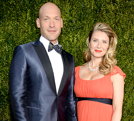 Corey Stoll and Nadia Bowers attend the 2015 Tony Awards. Credit: Kevin Mazur/Getty Images for Tony Awards Productions