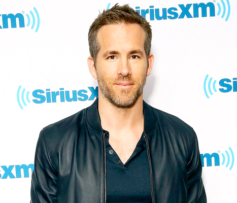 "Ryan Reynolds calls his daughter James ""the most amazing creature I've ever seen in my life."" Credit: Astrid Stawiarz/Getty Images"