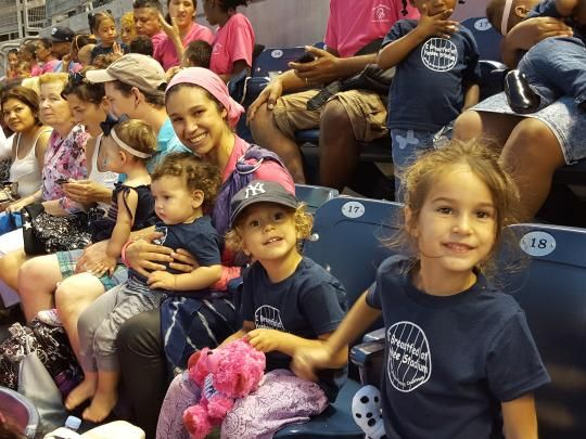 Breastfeeding Night at Yankee Stadium aims to help mothers feel comfortable breastfeeding in public. Image: Bronx Breastfeeding Coalition