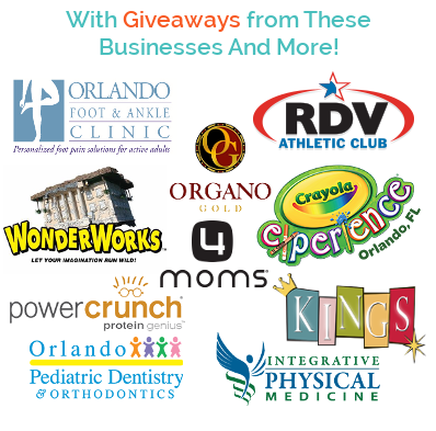 With Giveaways from these businesses and more!