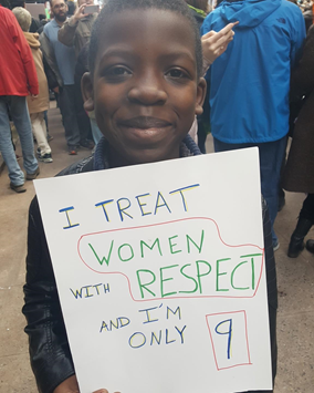 Why I Took My Son To March For Women