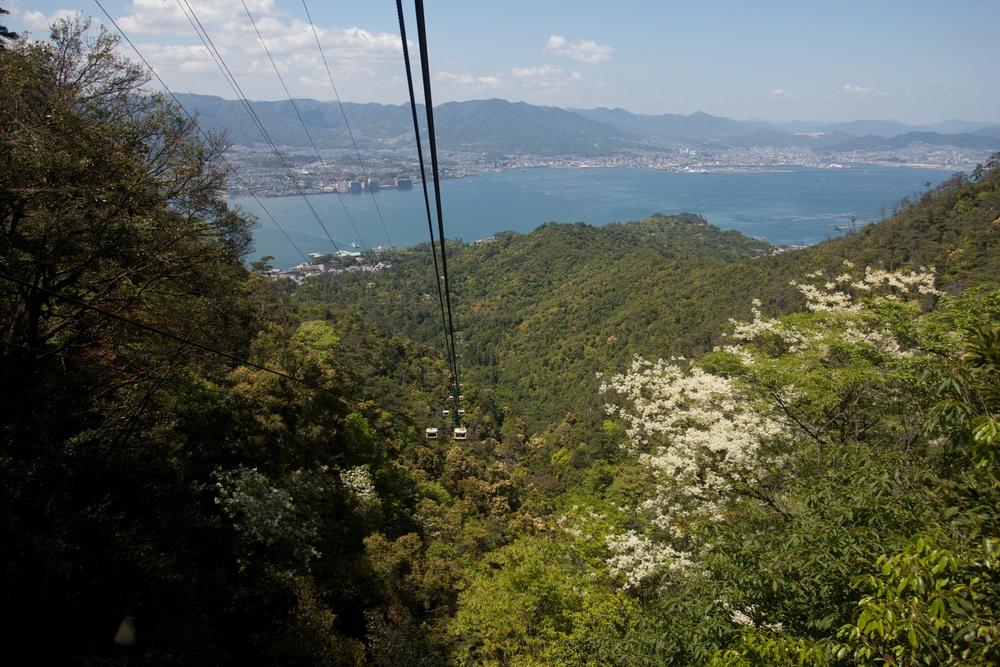 Miyajima Island Mountain Roadway, Hiroshima.jpg