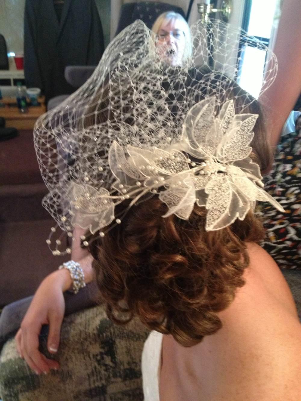 A wedding up do- I tackled!