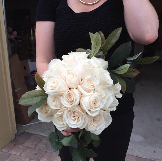Bride's Bouquet. The final product!