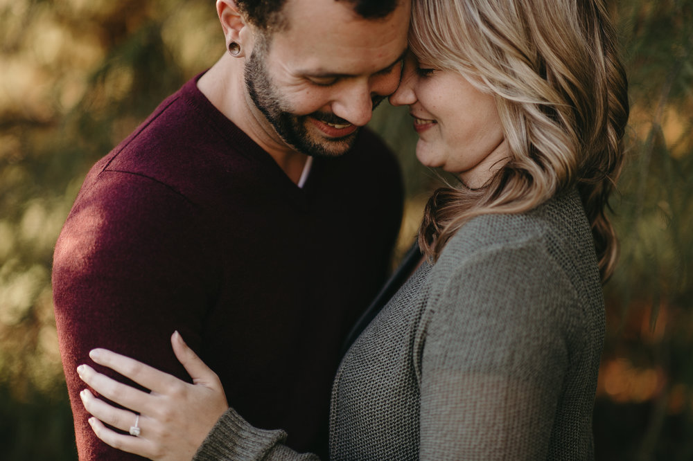 engagement photo outdoor gray sweater.jpg