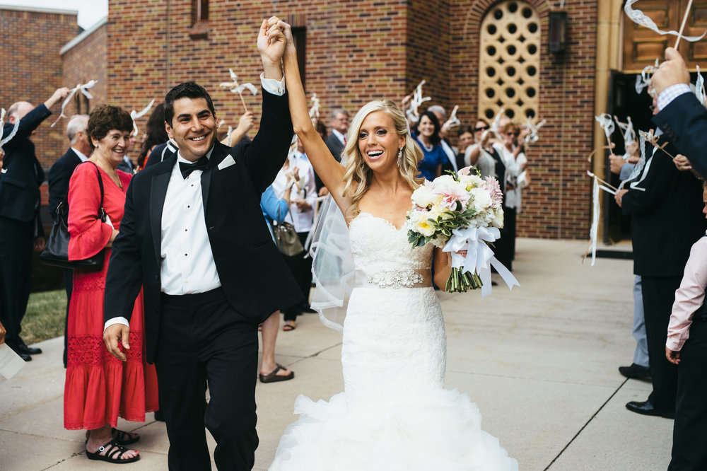 Becky was very easy to work with and responded to our needs with both patience and a strong sense of urgency. We were confident on our wedding day that she was on top of everything! We were grateful to have her and enjoyed working with her! - Chrissy Iowa 2015 - Planned by Becky