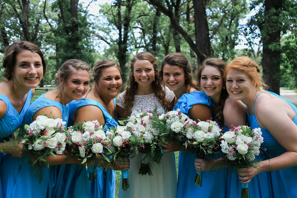 bridesmaid dresses short blue.jpg