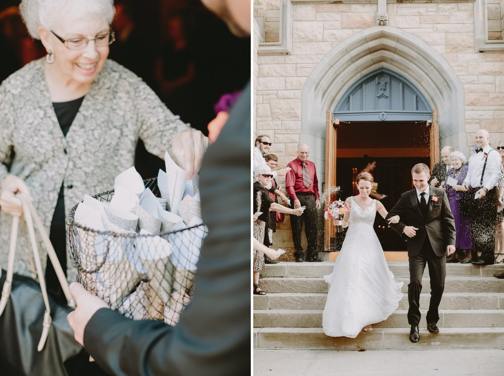 grand-exit-iowa-venue-fort-dodge-church-ceremony-first-presbyterian-bird-seed