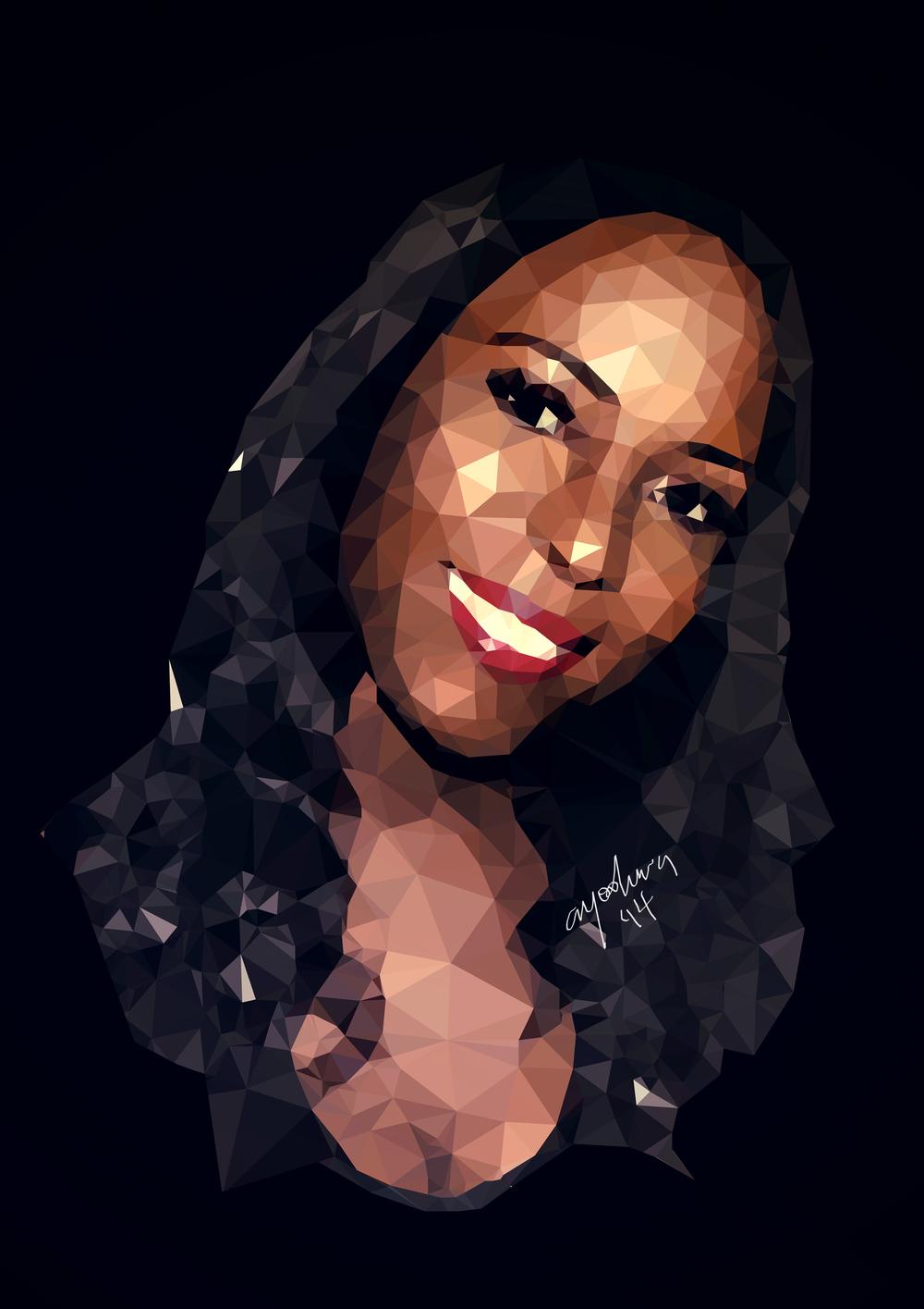 Linda Ikeji. Illustration, Ayooluwa Elisha