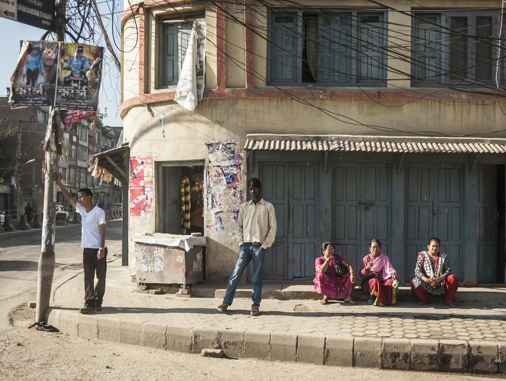 Kathmandu Sidewalk