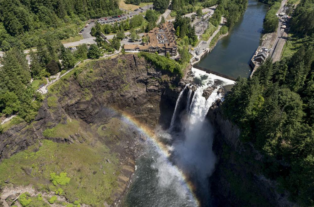 Snoqualmie Falls Aerial