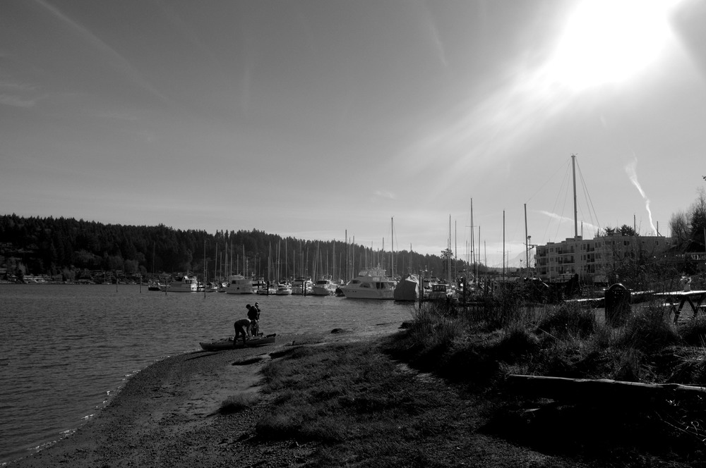 Kayaking Gig Harbor
