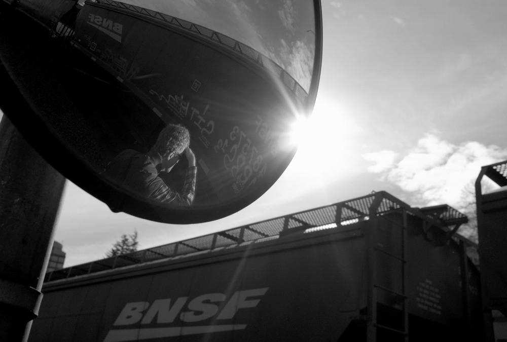 BNSF Mirror