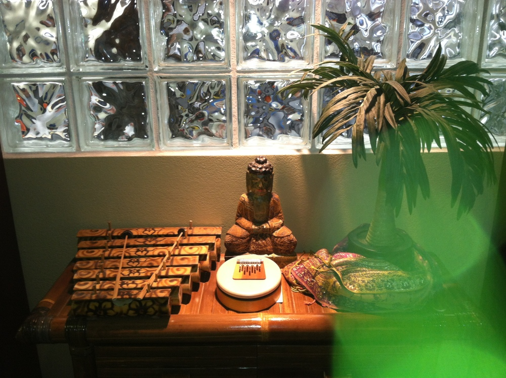 Green Healing Energy Caught by Our Camera at the Matiz Wellness Center!
