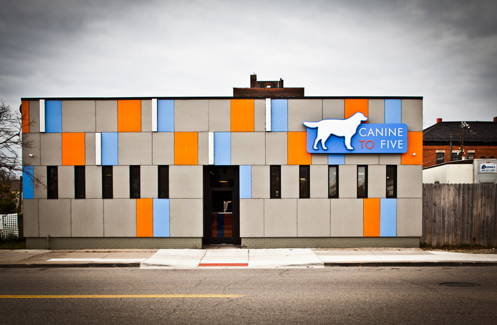 Canine to Five Facade 2014 Detroit Home Design Award