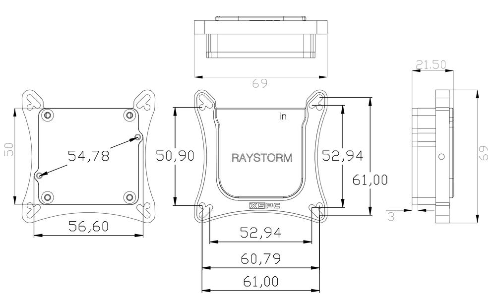 Raystorm gpu xbox one xspc performance pc water cooling raystorm gpu xbox one ccuart Choice Image