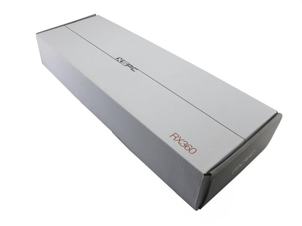 Triple Fan Black XSPC RX360 Radiator V3 120mm x 3