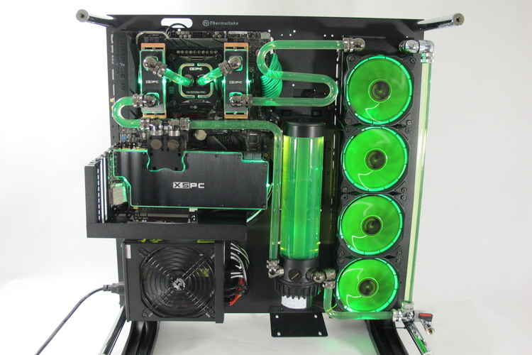 showcase xspc performance pc water cooling