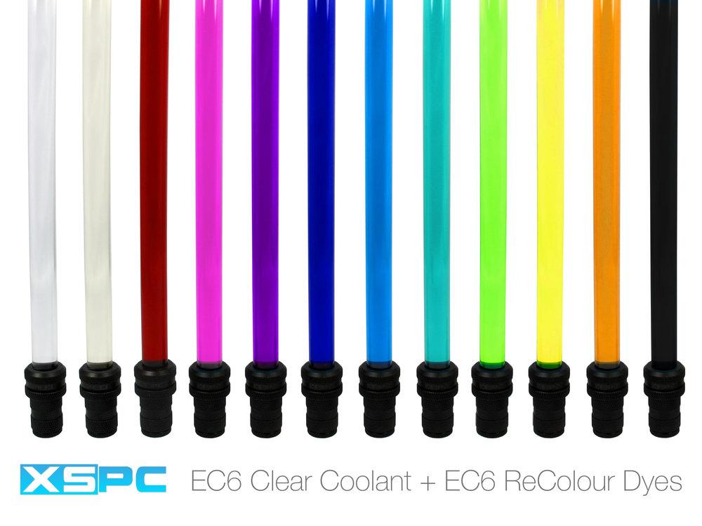 xspc ec6  EC6 ReColour Dye - UV Purple — XSPC - Performance PC Water Cooling