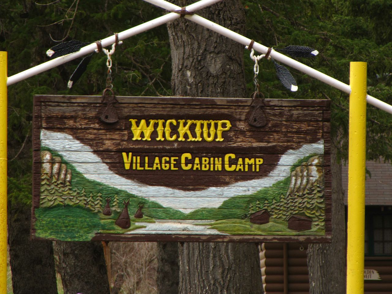 WICKIUP CABINS